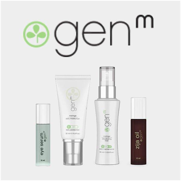 Zija GenM Skin, Hair, and Body Care
