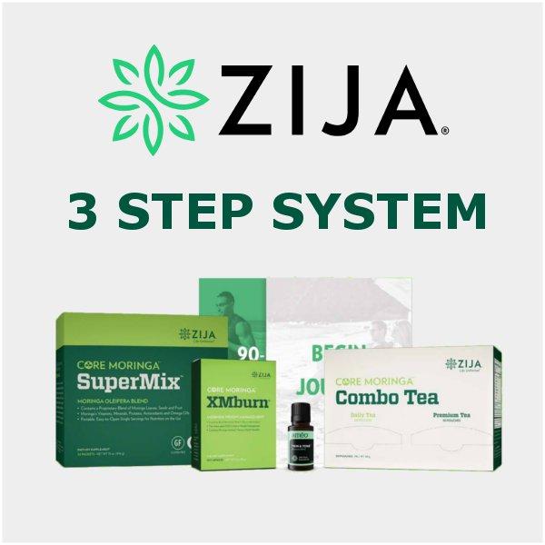 Zija 3 Step Weight and Wellness Management System